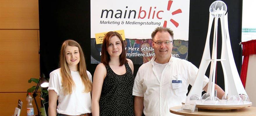 Mainblick Team auf dem Hanauer Lieferantentag