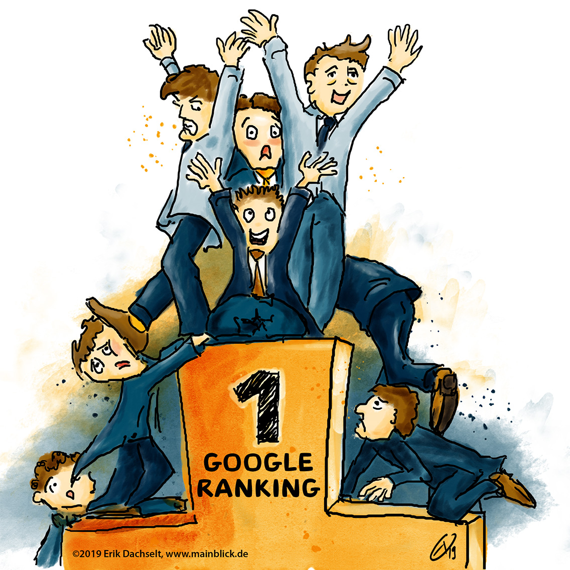 Google-Ranking wer ist vorne